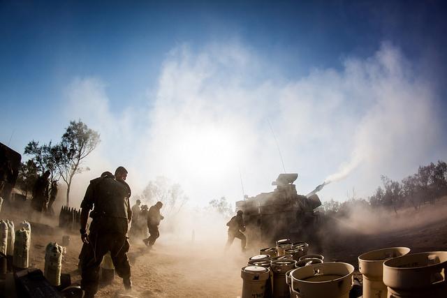 """בפעולה במבצע צוק איתן. צילום: דובר צה""""ל"""