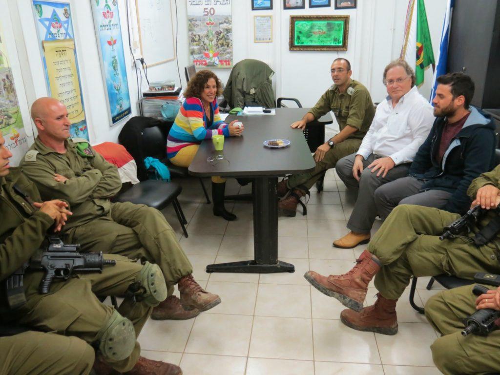 מפגש בלשכת מגד גדוד בזלת