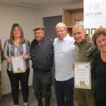 חברת כימיקלים לישראל מאמצת את בית ספר לקצינים בהד 1 וגדוד גפן