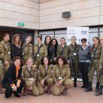יום האישה הבינלאומי : חברת פרטנר חוגגות עם לוחמות השיריון פורצות הדרך